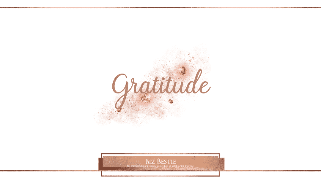 Gratitude, Relationships and Neurochemicals.